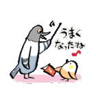 小鳥と音楽・ピアノの先生(個別スタンプ:04)