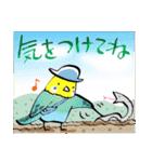 小鳥と音楽・ピアノの先生(個別スタンプ:10)