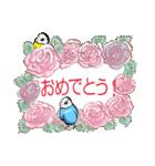 小鳥と音楽・ピアノの先生(個別スタンプ:30)