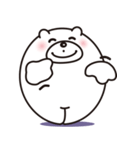 微笑みクマのスマイル(個別スタンプ:8)
