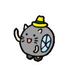 ハットにゃん(個別スタンプ:01)