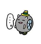 ハットにゃん(個別スタンプ:08)