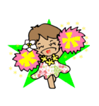便利★可愛い!フラガール★Luana★ vol.1(個別スタンプ:18)