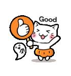かぼちゃパンツの猫さん(個別スタンプ:09)