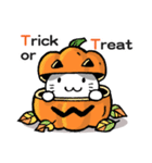 かぼちゃパンツの猫さん(個別スタンプ:25)