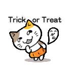 かぼちゃパンツの猫さん(個別スタンプ:28)