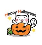 かぼちゃパンツの猫さん(個別スタンプ:34)