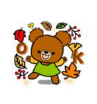 くまたんde秋~ハロウィンのスタンプ(個別スタンプ:18)