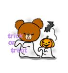 くまたんde秋~ハロウィンのスタンプ(個別スタンプ:33)