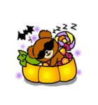 くまたんde秋~ハロウィンのスタンプ(個別スタンプ:39)