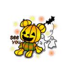 くまたんde秋~ハロウィンのスタンプ(個別スタンプ:40)