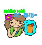 Hawaiian Family Vol.5  Alohaな気分 2(個別スタンプ:35)