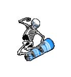 骨のスタンプ3(個別スタンプ:04)