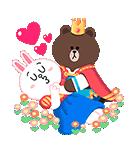 おとぎの国のLINEキャラクターズ☆(個別スタンプ:09)