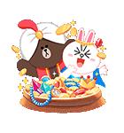 おとぎの国のLINEキャラクターズ☆(個別スタンプ:15)