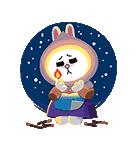 おとぎの国のLINEキャラクターズ☆(個別スタンプ:17)