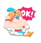 おとぎの国のLINEキャラクターズ☆(個別スタンプ:19)