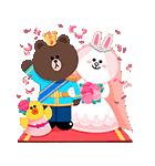 おとぎの国のLINEキャラクターズ☆(個別スタンプ:23)