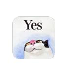 絵本に出てきそうな猫(個別スタンプ:04)