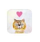 絵本に出てきそうな猫(個別スタンプ:11)