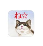 絵本に出てきそうな猫(個別スタンプ:31)