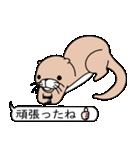 絵文字好きなカワウソ(個別スタンプ:04)