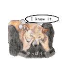 柴犬のここが好き5〜英語版〜(個別スタンプ:9)