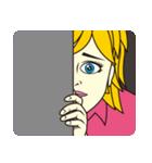 ニコニコガール(個別スタンプ:12)