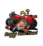 年末年始のネイキッドライダー(個別スタンプ:38)