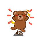良いクマ、悪いクマ、モテクマ+α(個別スタンプ:11)