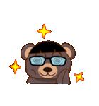 良いクマ、悪いクマ、モテクマ+α(個別スタンプ:17)
