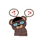 良いクマ、悪いクマ、モテクマ+α(個別スタンプ:21)