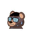 良いクマ、悪いクマ、モテクマ+α(個別スタンプ:29)