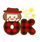 ベニちゃん1【基本/日常パック】(個別スタンプ:5)