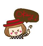 ベニちゃん1【基本/日常パック】(個別スタンプ:6)