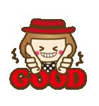 ベニちゃん1【基本/日常パック】(個別スタンプ:21)