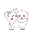 ♡かわいすぎるくま♡(個別スタンプ:02)