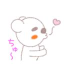 ♡かわいすぎるくま♡(個別スタンプ:03)