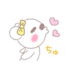 ♡かわいすぎるくま♡(個別スタンプ:04)