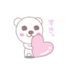 ♡かわいすぎるくま♡(個別スタンプ:05)