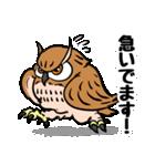 ミミズクづくし(個別スタンプ:5)