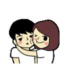 Love u love me(個別スタンプ:02)
