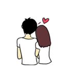 Love u love me(個別スタンプ:22)