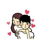 Love u love me(個別スタンプ:25)