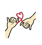 Love u love me(個別スタンプ:39)