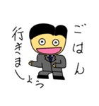 ゆるサラリーマンたっくん(個別スタンプ:03)
