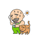 ほのぼのネコ好きヒゲ親父(個別スタンプ:26)