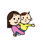 3人家族のほのぼの日常(個別スタンプ:38)