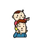 3人家族のほのぼの日常(個別スタンプ:39)