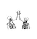 骨のスタンプ4(個別スタンプ:4)